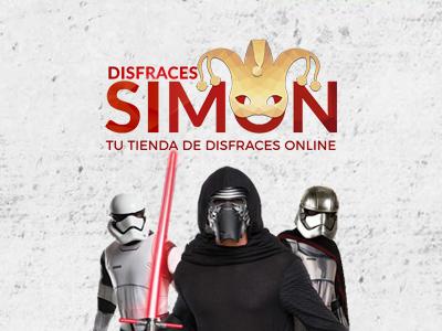 Web Disfraces Simón