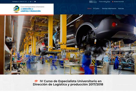 Diseño Web Curso para la Universidad de Vigo