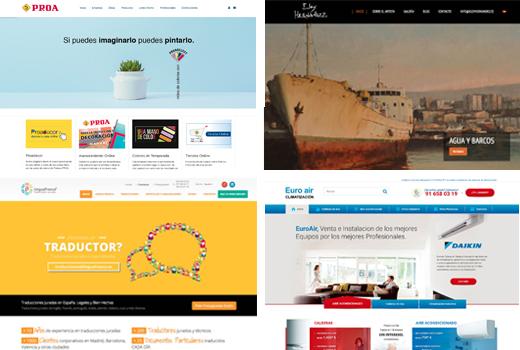 Otros Proyectos Web de Empresas
