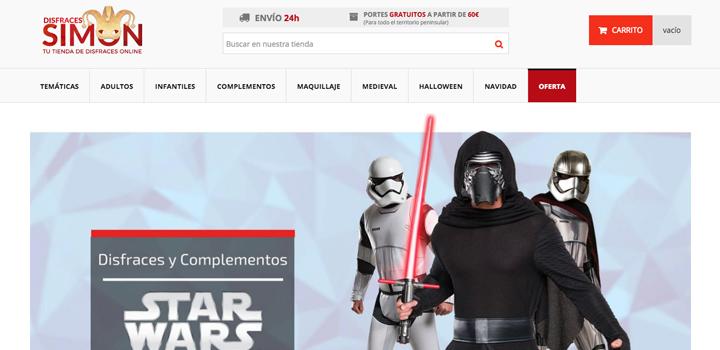 Tienda online Disfraces Simón